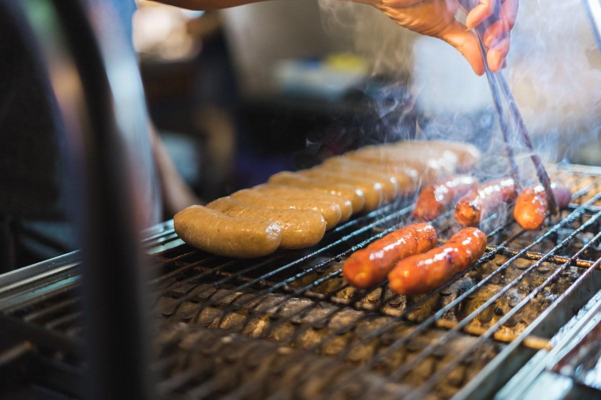 Sausage at Taiwan Night Market