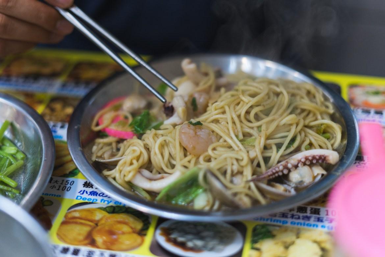Shilin Night Market in Taipei