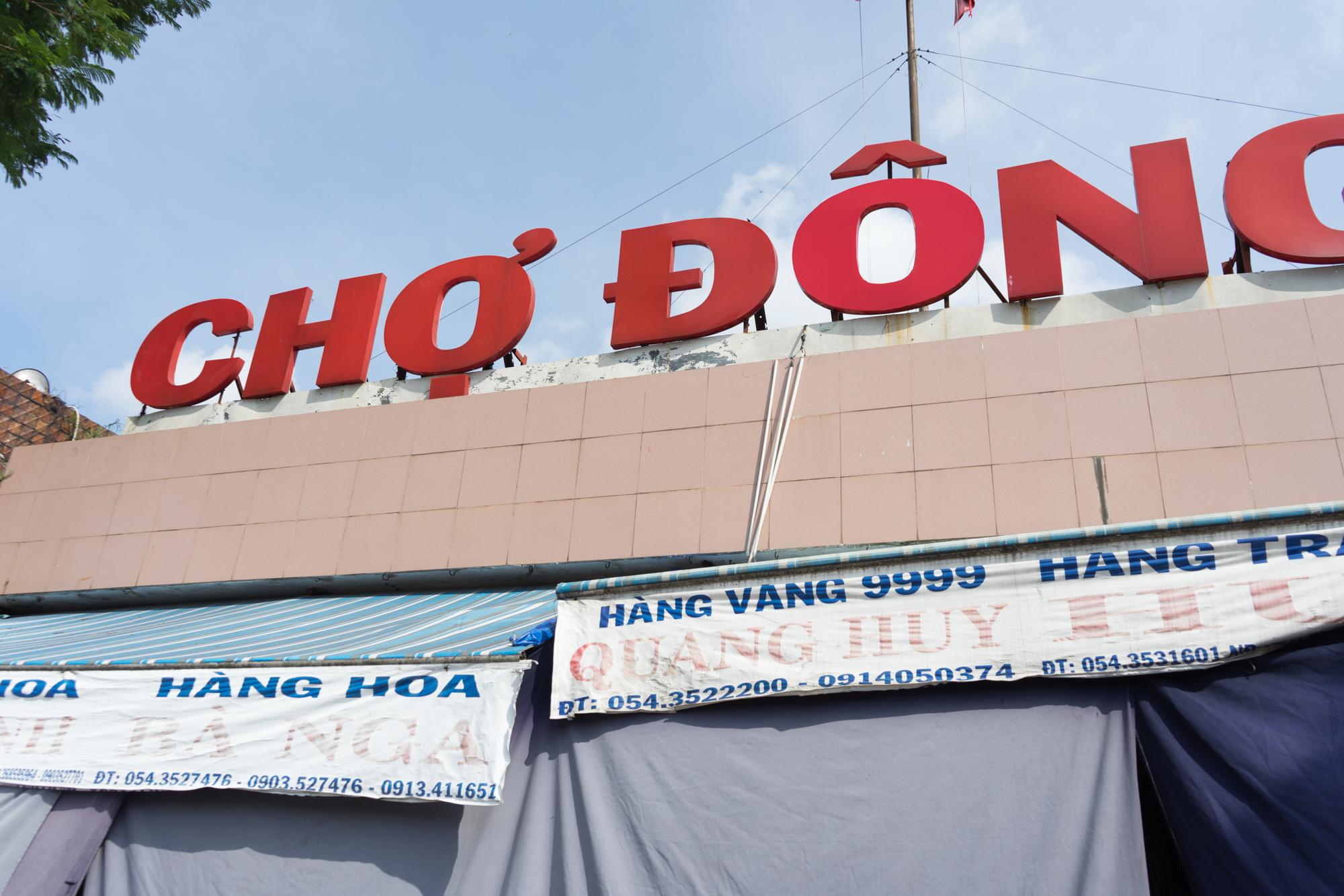 Dong Ba Market in Hue Vietnam