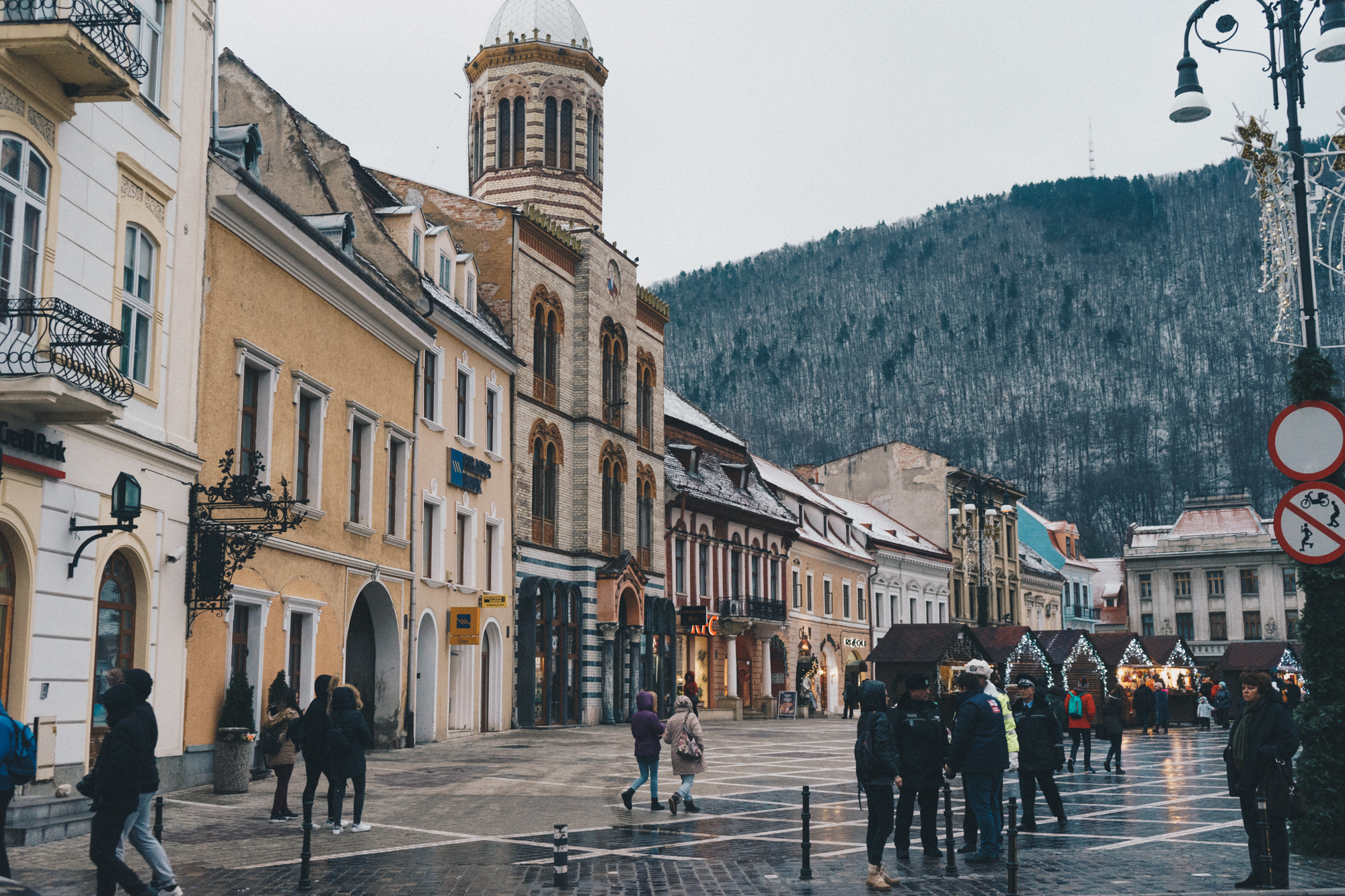 Main Square Brasov, Romania