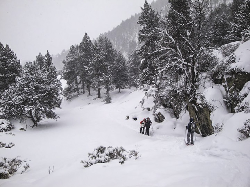 Andorra winter