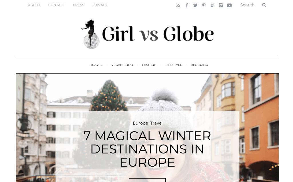 Girl vs. Globe