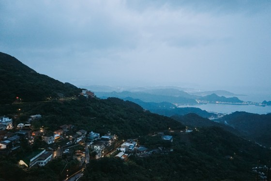 Jiufen sunset