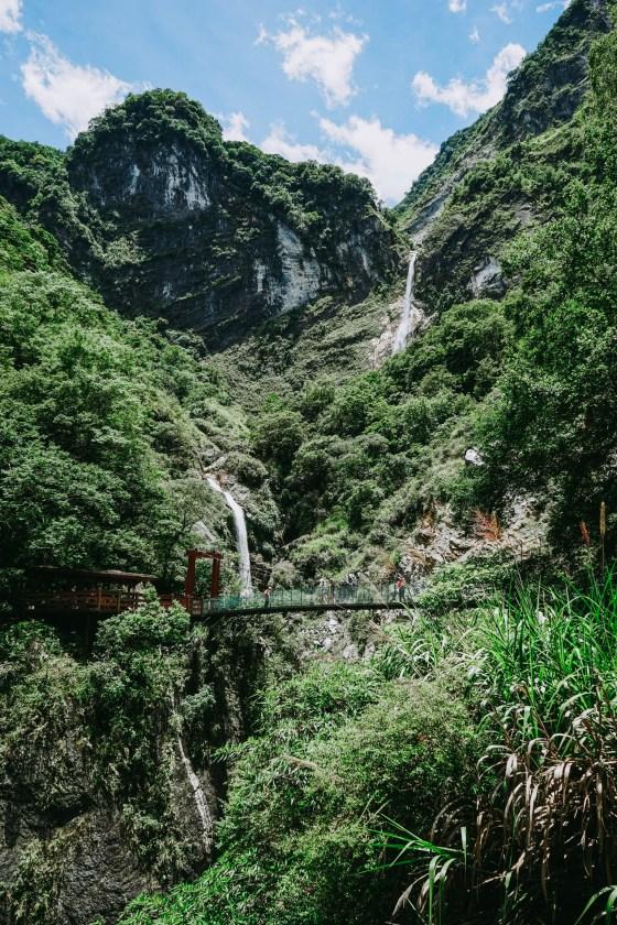 Baiyang Falls Taroko National Park