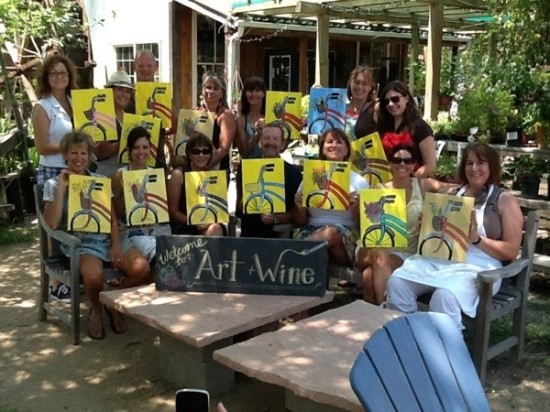 Bring a Friend to our Art & Wine Night ($20 off each friend!)