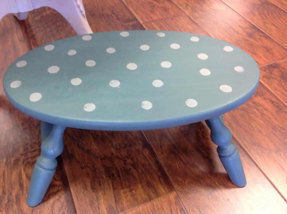 Step stool, painted in Kitchen Scale