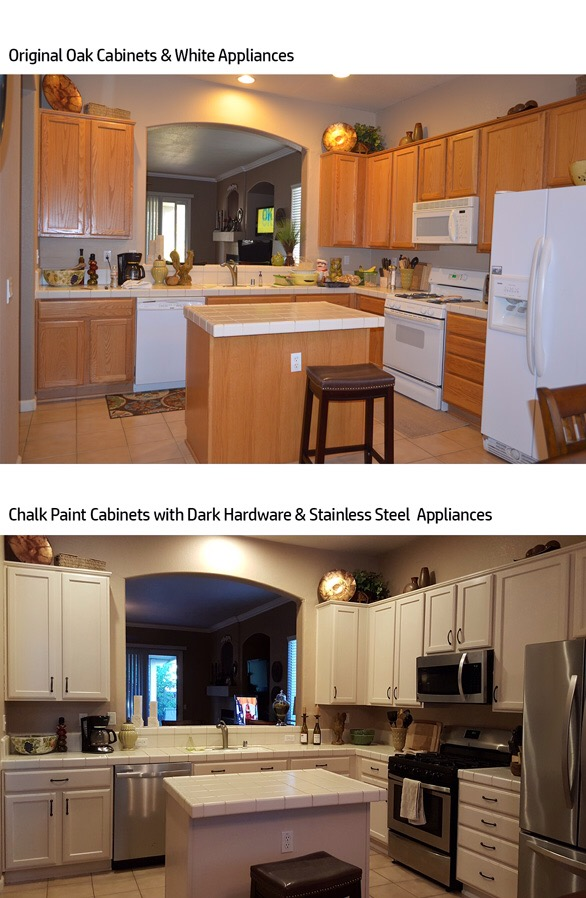 A Customer's Kitchen Cabinet Success Story