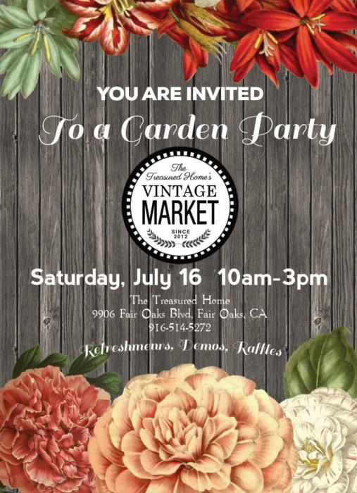 Garden Party-Vintage Market
