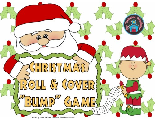 Christmas Roll & Cover - Subscriber FREEbie