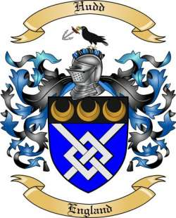 Hudd Family Crest From England By The Tree Maker