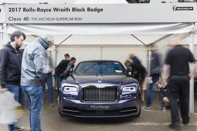 Rolls-Royce Motor Cars celebrated a successful Goodwood Festival Speed