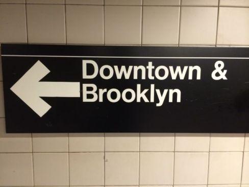 Brooklyn bound..