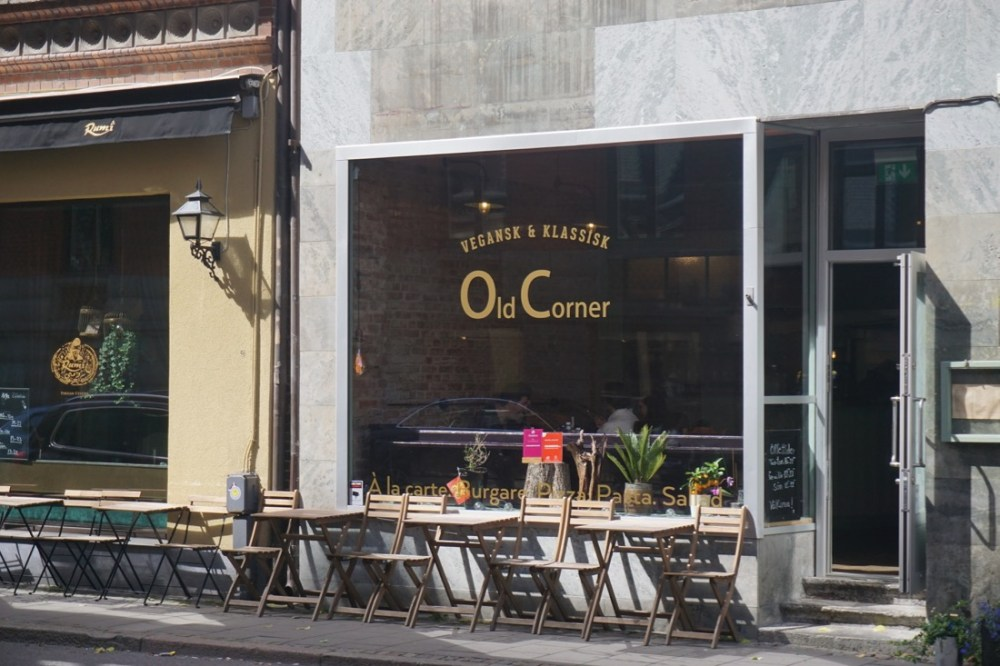 vegan old corner