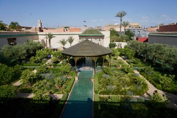 marrakech jardin secret