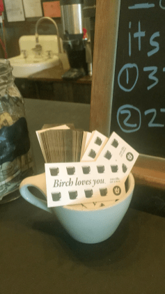 birch coffee cards
