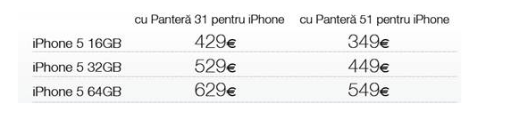iPhone 5 pret 4g