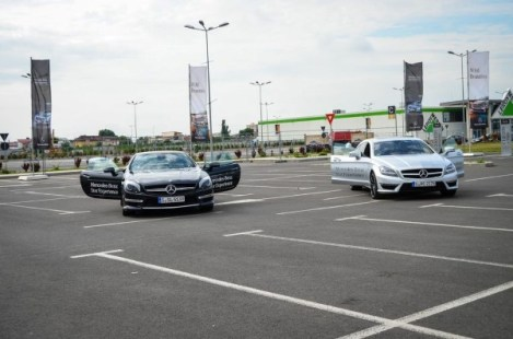 Mercedes-Benz Roadshow - test-drive onroad 1