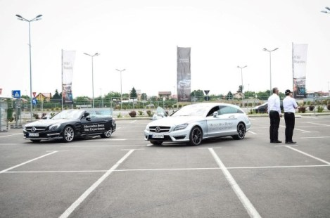 Mercedes-Benz Roadshow - test-drive onroad 2