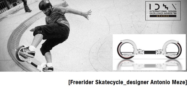 Antonio Meze_Freerider Skatecycle