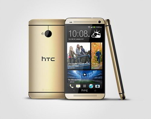 HTC One gold 3V