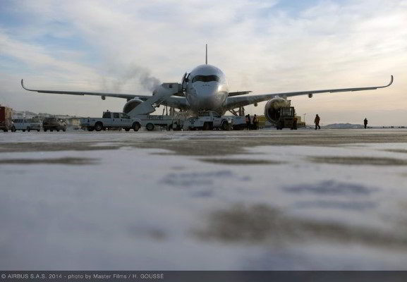 A350_Cold_weather_test_01