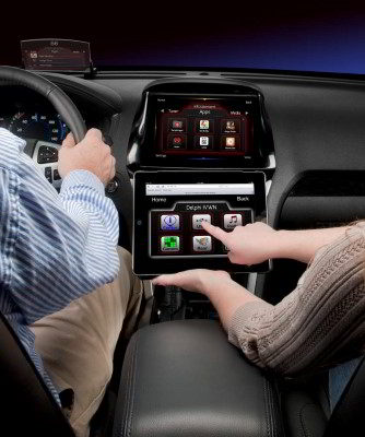 Infotainment control with ipad LD