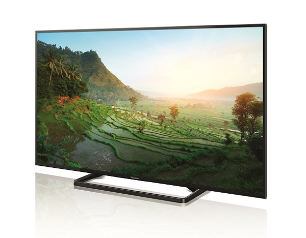 Panasonic VIERA TX-50A400E Left with in-screen image
