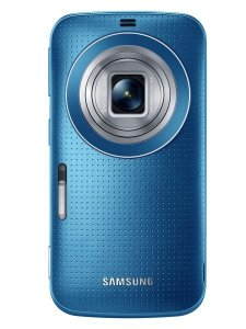 Galaxy K zoom_Electric Blue_Lens open
