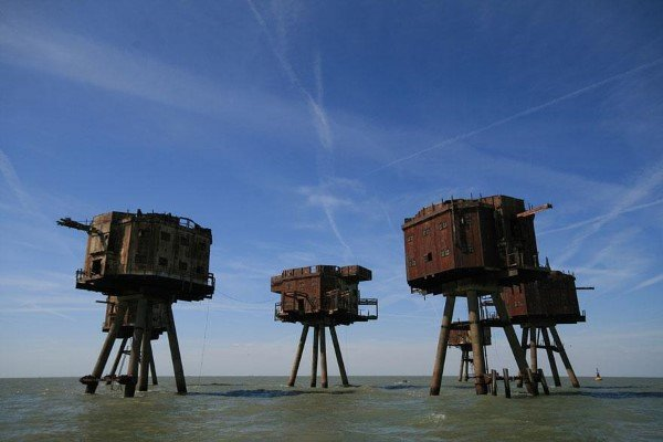 The Maunsell Sea Forts, England