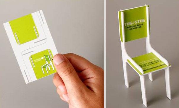 Toy Chair Business Card