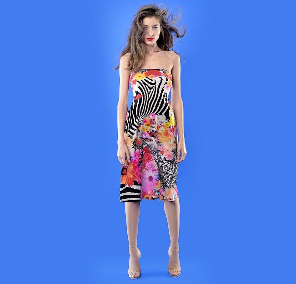 1. The Summer Dress - Happy Zebra Graphic - 370 RON-1