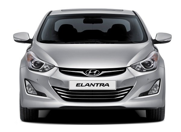 Elantra FL - imagine frontala