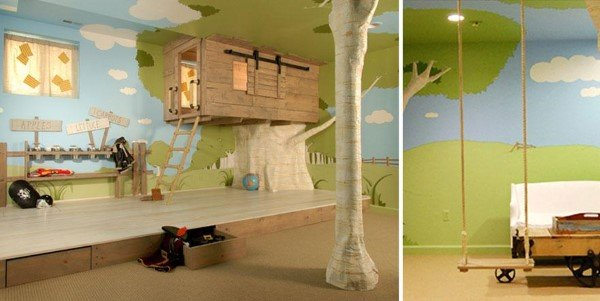 Tree House Bedroom