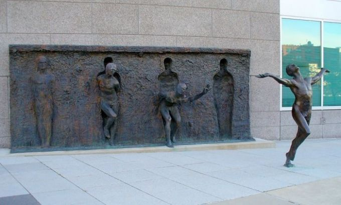 Break Through From Your Mold By Zenos Frudakis