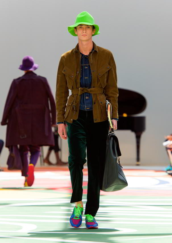 Burberry Prorsum Menswear Spring Summer 2015 Collection - Look 2