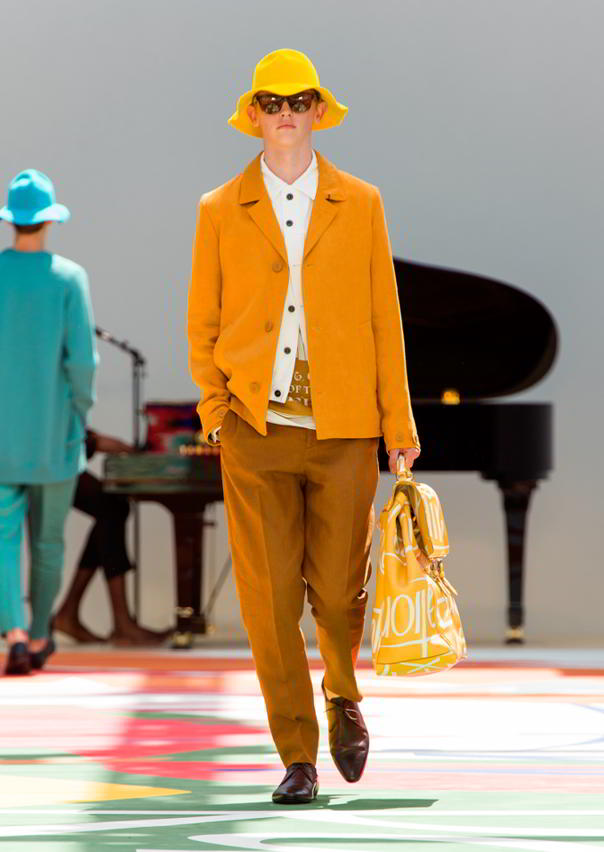Burberry Prorsum Menswear Spring Summer 2015 Collection - Look 21