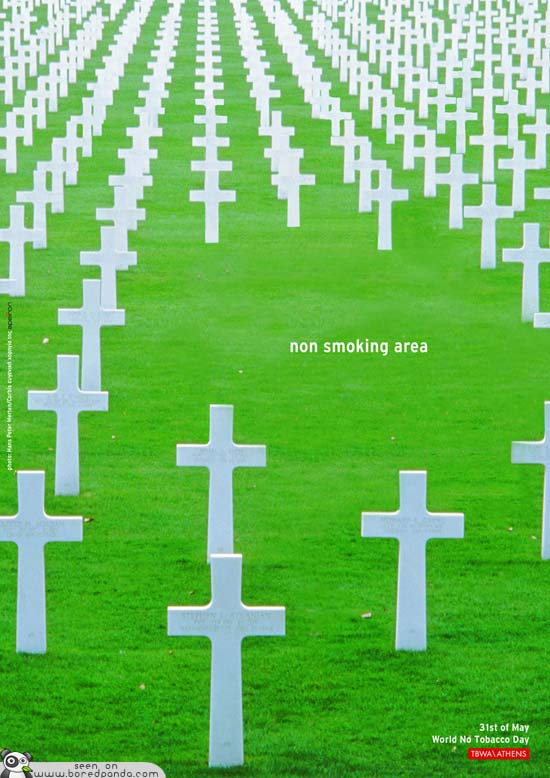 Clever-and-Creative-Antismoking-ads-cemetery