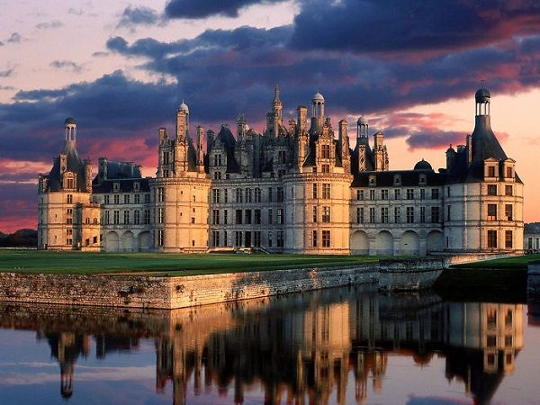 The Royal Château De Chambord, France