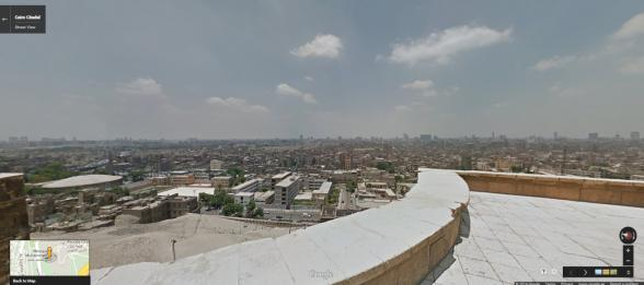 Cairo Citadel Terrace - Panorama of Cairo