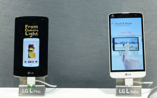 LG L FINO(left) L BELLO(right)