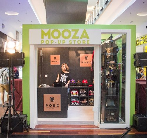 MOOZA Pop Up Store deschidere 6