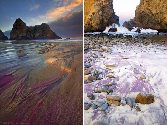 Pfeiffer Purple Sand Beach, California