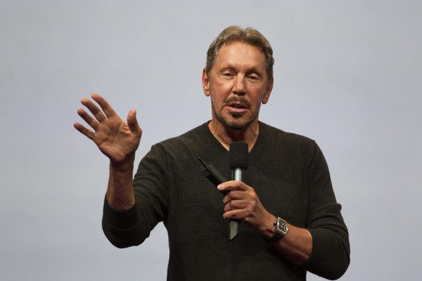 Larry+Ellison