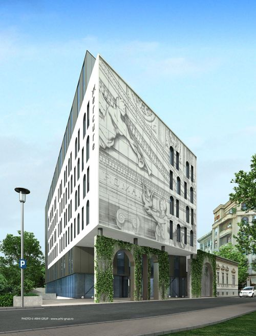 Mercure_Bucharest_City_Center_facade