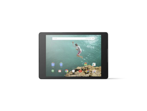 Nexus 9_Horizontal Front_Black_mic