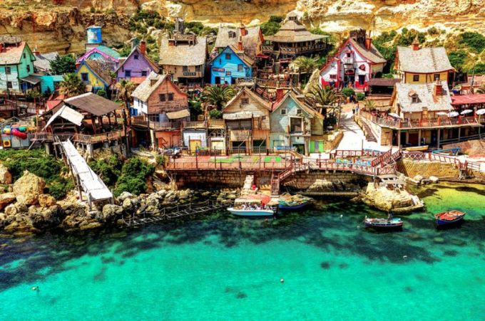 Popeye Village, Malta. Photo by Mosin