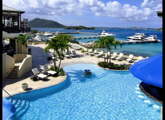 Scrub Island Resort, Spa & Marina, British Virgin Islands. Preţul: de la 1.200 de dolari/noapte.