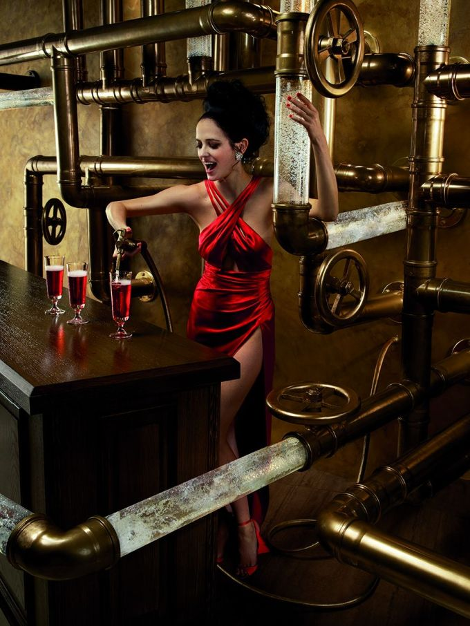 02 Campari Calendar 2015_Mythology Mixology_Eva Green_February_Campari and Seltz_LR