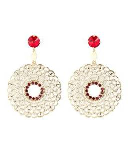 MBL_OR-30_ruby Cercei Circle Lace Ruby - 159 RON