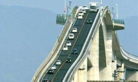 Amazing Eshima Ohashi Bridge In Japan